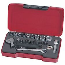 Teng Tools T1423 23 PIECE 1/4 DRIVE SOCKET WRENCH SCREWDRIVER BIT SET