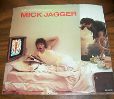"""MICK JAGGER 45 RPM """"Just Another Night and Turn the Girl Loose"""" COLUMBIA, UNUSED"""
