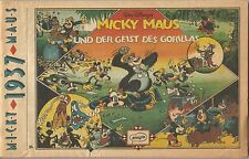 Micky Maus (Micky Mouse) 1937 Ehapa - German Deutsch Buch Comic