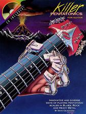 Killer Pentatonics For Guitar Dave Celentano Tab Book Cd NEW!