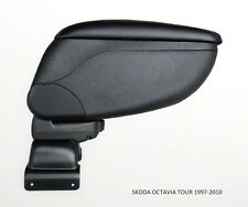 Armrest Center Console Black Storage Adjustable fit Skoda Octavia Tour 2000-2003