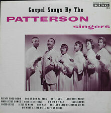 The Patterson Singers:Gospel Songs by the      US King LP
