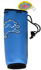 Detroit Lions Woozie Neoprene Bottle Insulator Holds a 750ml Bottle, New w/Tag