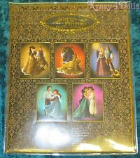 Disney Doll Designer Fairytale Collection Lithographs Set of 5 Limited Edition!