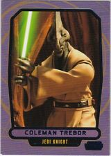 STAR WARS GALACTIC FILES SERIES 2 BLUE PARALLEL #420 COLEMAN TREBOR 309/350