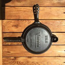 Victor Griswold Cast Iron Waffle Iron with Base
