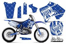 Yamaha Graphic Kit AMR Racing Bike Decal YZ 125/250 Decals MX Parts 96-01 SSR WU