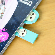 2XFruit Metal Magnetic Bookmarks Note Memo Stationery Book Mark Bookworm Cute MW