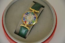 Ladies Italian Watch Le Murrine Veneziane from Venetian Murano Glass 12 hour