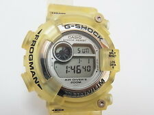 G-Shock Frogman DW-8201 WC-8T WCCS Titanium Limited Casio Watch New Battery Rare