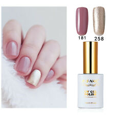 2 PIECES RS 181-258 Gel Nail Polish UV LED Varnish Soak Off New Stock 15ml