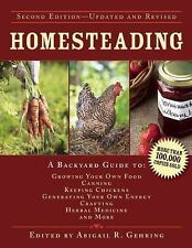 Homesteading Book~Sustainable Living~Growing Food~Canning~Living Off Grid~NEW!
