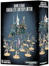 Warhammer 40K Dark Eldar Kabalite Skysplinter, New Toys And Games