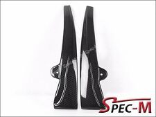 2005-2013 Chevy Corvette C6 Z06 ZR1 CF Carbon Fiber Side Skirts Mud Flaps Lip
