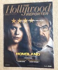 SPECIAL EMMY WATCH 2014 HOLLYWOOD REPORTER WITH HOMELAND COVER AD