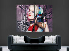 SUICIDE SQUAD POSTER  MARGOT ROBBIE FILM HARLEY WALL ART PRINT