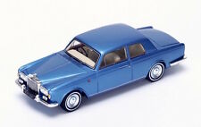 S3815 Spark 1/43: Bentley T1 Coupe James Young Special 1967 Blue with Tan Seats