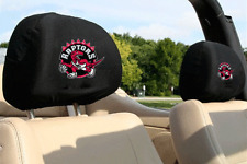 NBA Basketball Auto Car Head Rest Covers - Toronto Raptors *See my Feedback*