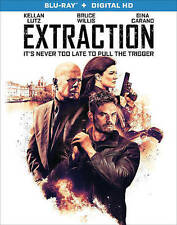 EXTRACTION The MOVIE on a BLU-RAY DVD Bruce Wilils & GINA CARANO of MMA Fighting