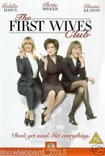 The First 1st Wives Club DVD Goldie Hawn Bette Midler Diane Keaton New UK R2