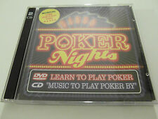 Various Artists - Poker Nights+Learn To Play (Album +DVD) Used very good