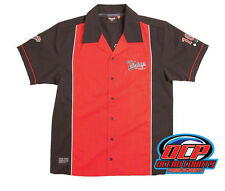 NEW VICTORY MOTORCYCLES MENS FC SHIRT BUTTON DOWN SIZE SMALL VEGAS VISION