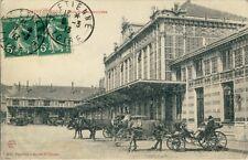 Ansichtskarte Saint Étienne Gare 1913 Frankreich Bahnhof