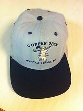 Copper Open Myrtle Beach Baseball Cap Hat South Carolina Golf Golfer Angry Pig