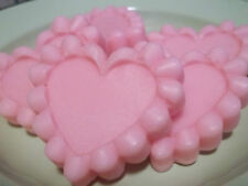 8 LARGE RIPPLE HEART TARTS ~ YOUR CHOICE OF FRAGRANCE ~ HIGHLY SCENTED