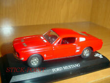 FORD MUSTANG RED 1:43 MINT CONDITION!!! OFFICIAL CAR