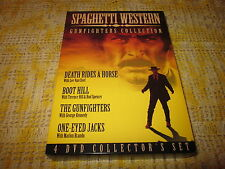 Spaghetti Western Gunfighters Collection (DVD, 2006, 4-Disc Set)
