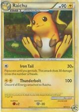RAICHU Holo Rare Pokemon Mint Card Heart Gold Soul Silver 10/123
