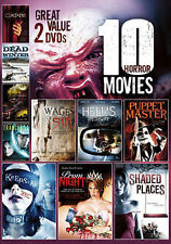 10 Horror Movies Collection, Vol. 10 (DVD, 2014, 2-Disc Set)