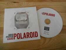 CD Pop David Pfeffer Band - Polaroid (3 Song) Promo SMARTEN UP cb