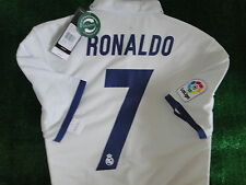 REAL MADRID** MATCH ADIZERO ** HOME SHIRT ** RONALDO ** 2016-17 BNWT SIZE SMALL