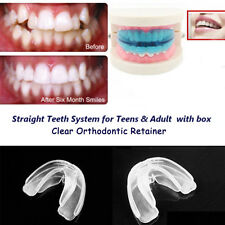 Orthodontic Straight Teeth System for Teens & Adult / A blue retainer + Box