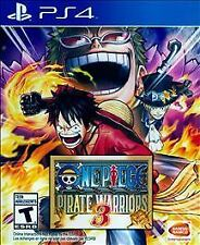 ONE PIECE: PIRATE WARRIORS 3 PS4 RPG NEW VIDEO GAME