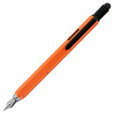 Monteverde One Touch 9-in-1 Stylus Tool Contractor Fountain Pen Orange (MV35290)