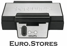 Krups Fdk 251 gofres belgas Acero Inoxidable 850 W Off Switch Original Nuevo