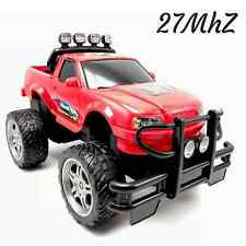 4WD Monster RC Truck Radio Control Red R/C Toy Remote Vehicle 12x7x7in 27MhZ New