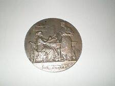 CAISSE D'EPARGNE DE NEVERS silver medal by Patey...NEW LOWERED PRICE!!!