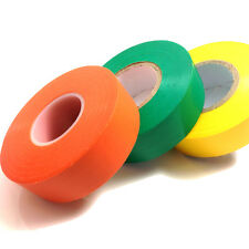 1 x ORANGE, YELLOW & GREEN ELECTRICAL PVC INSULATION INSULATING TAPE 19mm x 20m