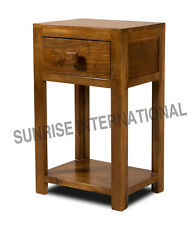 Wooden Bed side cabinet , Side table , Lamp Table  (1 drawer) !!