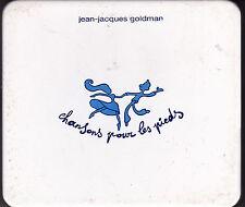 CD 12T BOITIER EN MÉTAL JEAN JACQUES GOLDMAN CHANSONS POUR LES PIEDS DE 2001