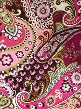 Remnant from Very Berry Paisley Vera Bradley Napkin crafting
