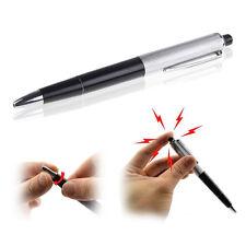 1x Kugelschreiber NEU Stromschlag Scherzartikel Elektro Schock shocking pen
