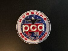 Official Porsche PCA Car Club of America Emblem Iron On Patch