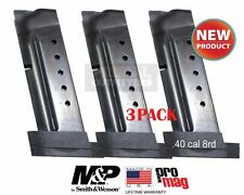 3Pack ProMag Smith&Wesson S&W M&P Shield .40cal Extended 7 Round Magazine SMI30