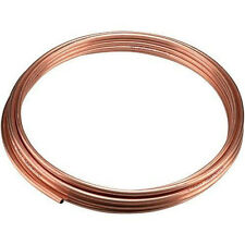 8mm Copper Pipe Tube Water Gas Plumb DIY Metal Bathroom Kitchen Build Construct