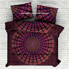 Indian Hippie Mandala Double Queen Size Bed Quilt Duvet Doona Cover Blanket Boho